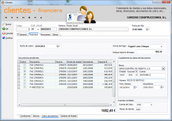 Clientes Financiera Cobro Documentos