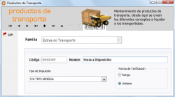Productos Transporte